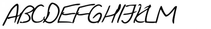 Giorgio Handwriting Font UPPERCASE
