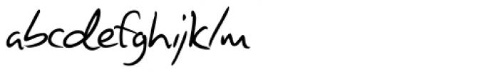 Giorgio Handwriting Font LOWERCASE