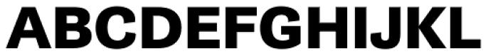 Gira Sans Extra Bold Font UPPERCASE
