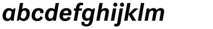 Gira Sans Medium Italic Font LOWERCASE