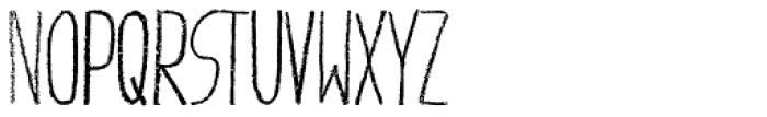 Giraffenhals Bold Font UPPERCASE