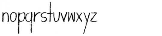 Giraffenhals Bold Font LOWERCASE