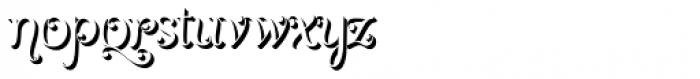 Girasol Shade Font LOWERCASE