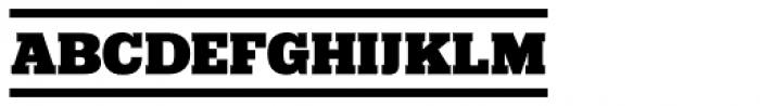 Girga Banner Font LOWERCASE