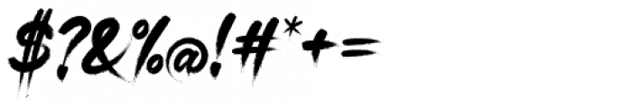 Gisbon Regular Font OTHER CHARS