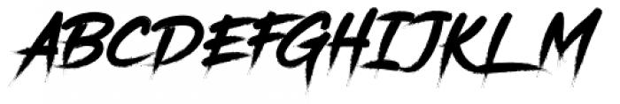 Gisbon Regular Font UPPERCASE