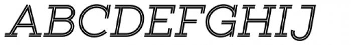 Gist Regular Font UPPERCASE