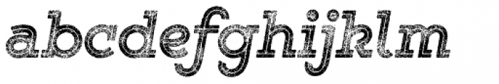 Gist Rough Exbold Three Font LOWERCASE