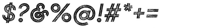 Gist Rough Reg Bold Font OTHER CHARS