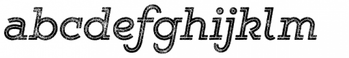 Gist Rough Reg Bold Font LOWERCASE