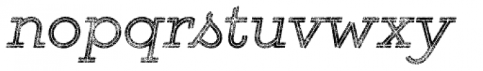 Gist Rough Reg Two Font LOWERCASE