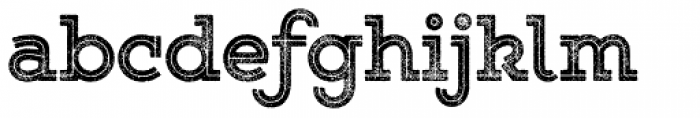 Gist Rough Upr Exbold Font LOWERCASE