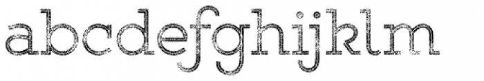 Gist Rough Upr Light Three Font LOWERCASE