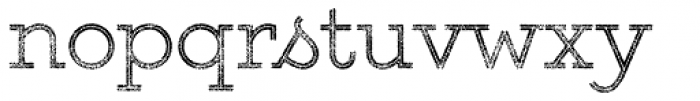 Gist Rough Upr Light Two Font LOWERCASE