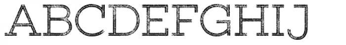 Gist Rough Upr Light Font UPPERCASE
