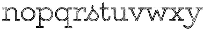 Gist Rough Upr Light Font LOWERCASE