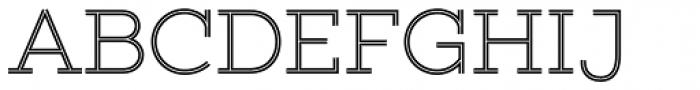 Gist Upright Light Font UPPERCASE