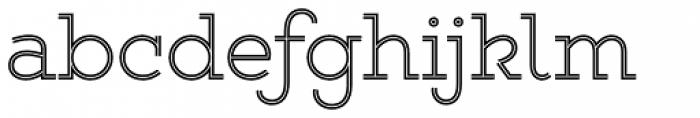 Gist Upright Light Font LOWERCASE
