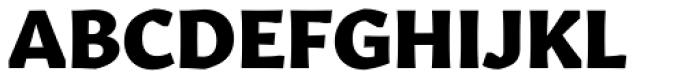 Gitan Latin ExtraBold Font UPPERCASE