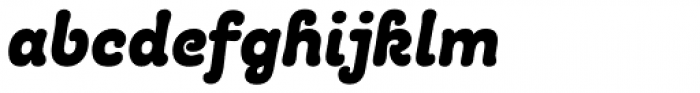 Giulia Bold Italic Font LOWERCASE