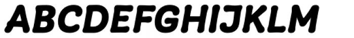 Giulia Plain Bold Italic Font UPPERCASE