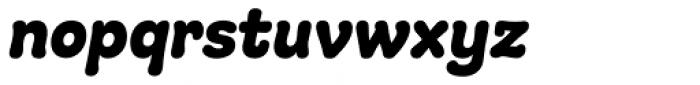 Giulia Plain Bold Italic Font LOWERCASE