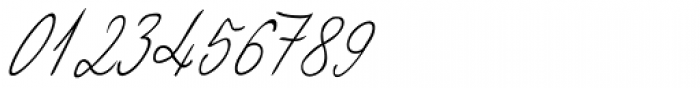 Giuliano Handwriting Font OTHER CHARS