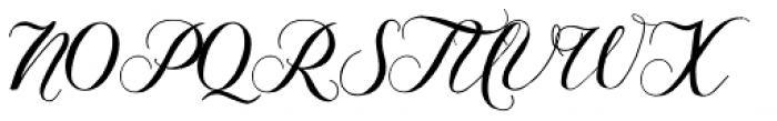 Giulietta A Font UPPERCASE