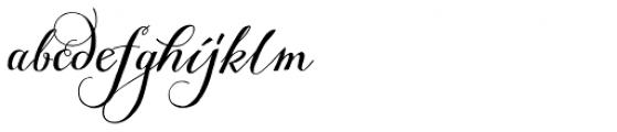 Giulietta A Font LOWERCASE