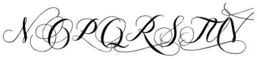 Giulietta B Font UPPERCASE