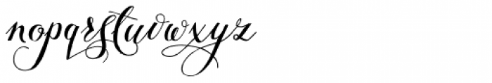Giulietta B Font LOWERCASE