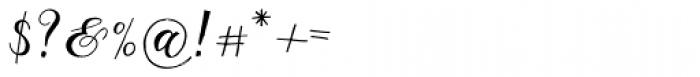 Giulietta Pro Font OTHER CHARS
