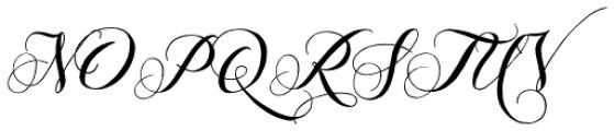 Giulietta Pro Font UPPERCASE