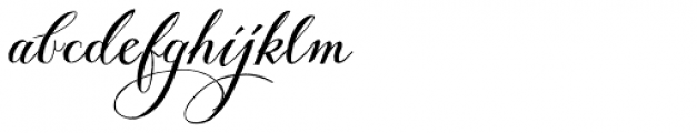 Giulietta Pro Font LOWERCASE