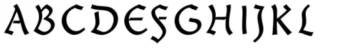 Giureska Uncial Font UPPERCASE