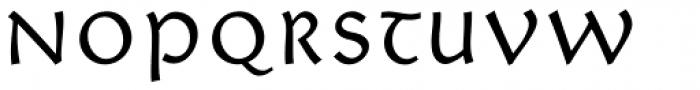Giureska Uncial Font LOWERCASE