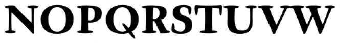 Givens Antiqua Pro Black Font UPPERCASE