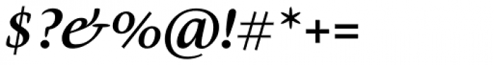 Givens Antiqua Pro Bold Italic Font OTHER CHARS