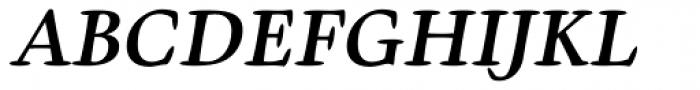 Givens Antiqua Pro Bold Italic Font UPPERCASE