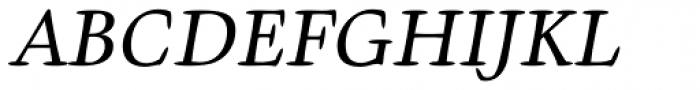 Givens Antiqua Pro Italic Font UPPERCASE
