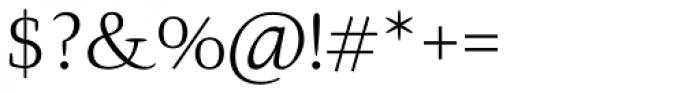 Givens Antiqua Pro Light Font OTHER CHARS