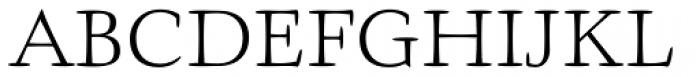Givens Antiqua Pro Light Font UPPERCASE