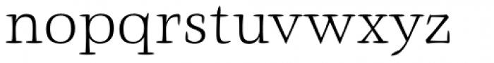 Givens Antiqua Pro Light Font LOWERCASE