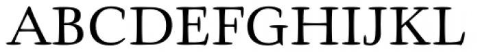 Givens Antiqua Pro Regular Font UPPERCASE