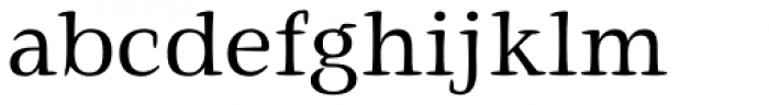 Givens Antiqua Pro Regular Font LOWERCASE