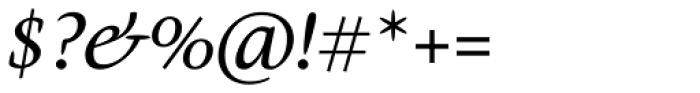 Givens Antiqua Std Italic Font OTHER CHARS