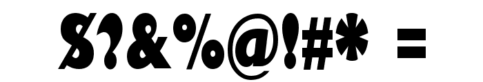 Gill Sans Ultra Bold Condensed Font OTHER CHARS