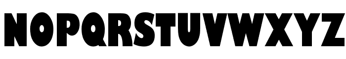 Gill Sans Ultra Bold Condensed Font UPPERCASE