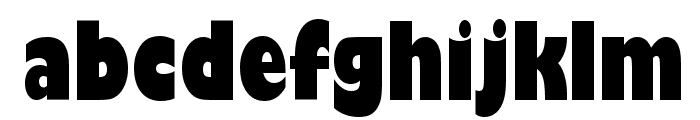 Gill Sans Ultra Bold Condensed Font LOWERCASE