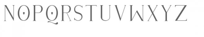 Githa Lovely Serif Font LOWERCASE